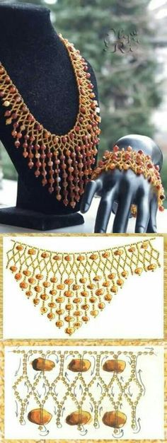 Best Seed Bead Jewelry 2017 netting with dangles schema Seed Bead Tutorials Seed Bead Necklace, Seed Bead Jewelry, Diy Necklace, Seed Beads, Necklaces, Beaded Necklace Patterns, Beaded Bracelets, Jewelry Crafts, Handmade Jewelry