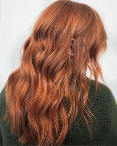 Ginger Red on Long Hair