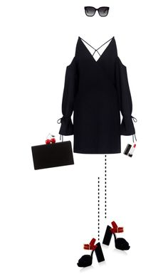 """..."" by rasa-j ❤ liked on Polyvore featuring Edie Parker, Gucci, IRO, Marc Jacobs, Prada and womensFashion"