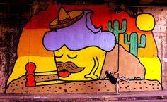 Bolinho! | Quem é o Bolinho?Bolinho é um personagem criado pela grafiteira Maria Raquel Bolinho. Seu intuito é colorir a cidade e dividir com milhares de pessoas sua paixão por doces, bolos, cupacakes e ARTE! Assim, em 2009 nasceram os Bolinhos e rapidamente se espalharam pelas ruas de Belo Horizonte.