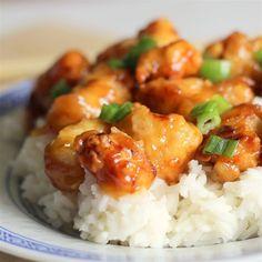 """Asian Orange ChickenI """"Great orange flavor - tastes similar to restaurant Crispy Orange Chicken."""""""