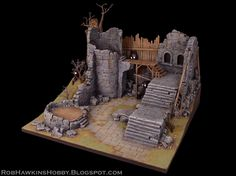Rob Hawkins Hobby: Wrath of Kings Terrain