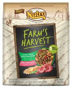 NUTRO Farm's Harvest Adult Dry Dog Food ** Quickly view this special dog product, click the image : Dog stuff