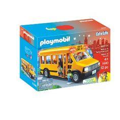 Playmobil School Bus Playset: Amazon.ca: $31