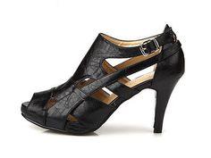 Women Lady Black Sexy Heel (3.2 inch) High Top Sandal Platforms Pump Shoes #04