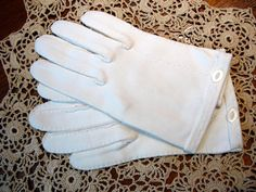 White gloves (an Easter, and Sunday School must have for young girls!)