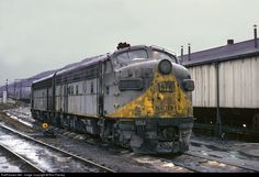 RailPictures.Net Photo: CRR 816 Clinchfield Railroad EMD F7(A) at Erwin, Tennessee by Ron Flanary