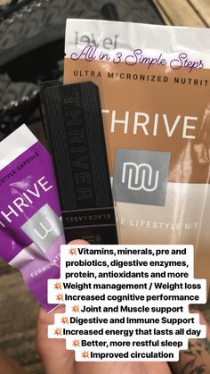 THRIVE by Le-Vel: The health & wellness movement, Thrive Experience Thrive Life, Level Thrive, Thrive Le Vel, Thrive Experience, Help Me Lose Weight, Healthier You, Health Facts, How To Increase Energy, Health Motivation