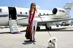 Luxurious Lifestyle With Private Jet