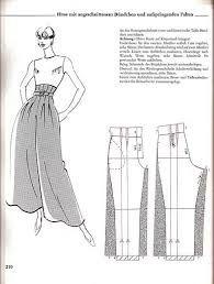 Imagini pentru tipar fusta pantalon