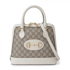 Gucci Horsebit, Dubai Mall, Printed Bags, Mini Bag, White Leather, Shoulder Strap, Crossbody Bag, Handbags, Shoes