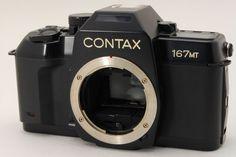 [Near MINT]CONTAX 167MT 35mm SLR Film Camera from Japan#182-075966 #Contax