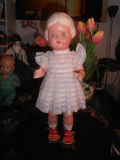 Schildkröt Puppe Rollschuh Bärbel blaue Augen SiR 41 unbespielt | eBay