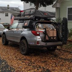 Lifted Subaru Outback: More