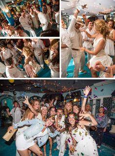 YC <3 ..Great #party #wedding! Magic wedding in Formentera. Fernando + María in a YolanCris wedding dress. #Degroote fotografía. #magic #wedding #Formentera #boda #mágica #novia #estilo #boho #chic #vestido #YolanCris