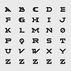 Opolab Brand typeface   Designer: Pedro Serapicos