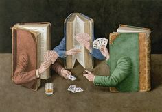 Jonathan Wolstenholme is a British artist and illustrator best known for his amazingly detailed works deriving from a love of old books. Books on Books is a series Writing Contests, Lectures, Book Show, Surreal Art, Surreal Photos, I Love Books, Oeuvre D'art, New Art, Book Art