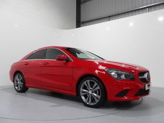 Mercedes Benz CLA 180 Sport Finished in Jupiter Red with Black Artico / Corumba Interior and Silver Wave Interior Trim.  For more images and spec: http://www.simonjamescars.co.uk/mercedes-cla180-sport-in-derbyshire-3910675