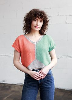 Knit Picks, Top Pattern, Knitting Patterns, Knit Crochet, Tank Tops, Tees, Lace, Knits, Inspiration