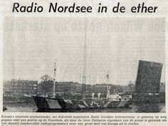 Newspaper report of Mebo II leaving port to take up position in the North sea