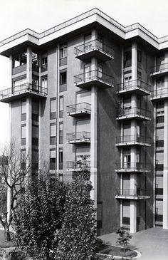 Franco Albini - Casa a torre Via Argelati, Mailand  1972