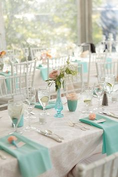 not my wedding colors, but still cute. :) will do this in blush and ivory :)