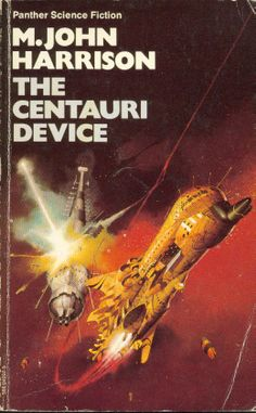 The Centauri Device (1975 paperback), cover by Peter Jones