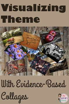 Theme is one of the concepts in literature that students struggle with most. Use this simple graphic organizer to help students determine the theme of any piece of writing and then create a collage of text and images to reinforce their theme's message abo