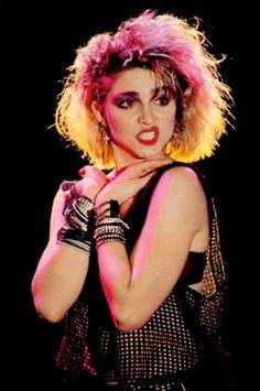 Yeah. Madonna 80s Fashion, Madonna 80s Makeup, Madonna 80s Outfit, 80s Punk Fashion, 80s Fashion Icons, Madonna Costume, 80s Icons, Fashion Websites, Costume Année 80
