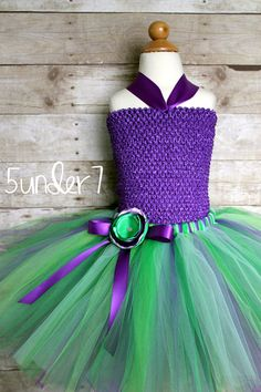 Ariel Mermaid Tutu   Photo Prop Present Dress Up by 5under7, $22.00