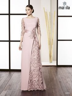 Super Ideas for dress winter bridesmaid haute couture Dress Brokat, Kebaya Dress, Batik Dress, Lace Dress, Abaya Fashion, Fashion Dresses, Fashion Shirts, Elegant Dresses, Beautiful Dresses