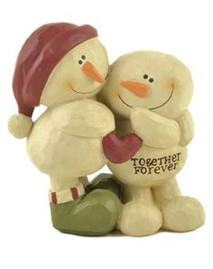 Show details for Together Forever Snowman Couple #ChristmasDécor