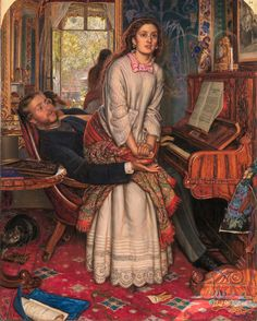 """The Awakening Conscience"" by William Holman Hunt"