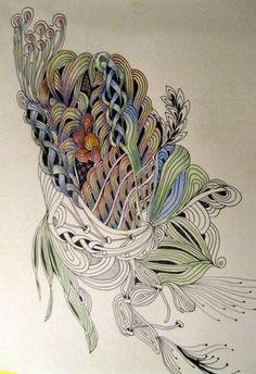 #Zentangle inspired art