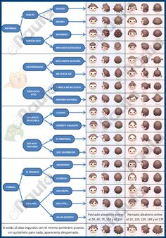 Animal crossing new leaf hairstyle guide Animal Crossing