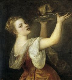 Tiziano, Salomé con la cabeza del Bautista