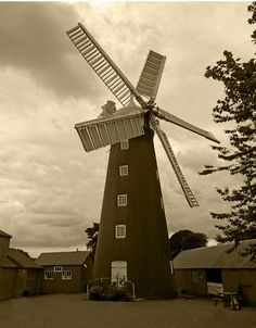Dobson's Mill at Burgh le Marsh near Skegness, in Lincolnshire.  Pic by Tony Boughen always a sign of nearly there when I was little