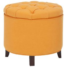 I pinned this Scarlett Storage Ottoman in Tangerine from the Colville Studios event at Joss and Main!