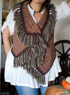 Bo-M Crochet Jacket, Knit Crochet, Woolen Craft, Poncho Shawl, Knit Shirt, Knitted Shawls, Unique Outfits, Printed Leggings, Western Wear