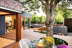 Naroon modern backyard project by Signature Landscapes COS Design and Serenity Pools 1 Family Fun:Modern Backyard Design for Outdoor Experi...