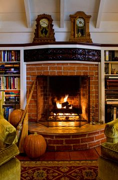 What's better than sitting by the fire in a moody cottage?  Moody Cottages, Santa Barbara, California ...