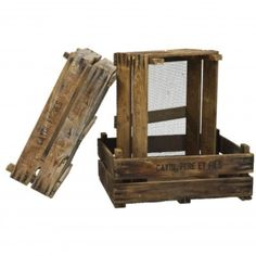 French Herb Drying Crate