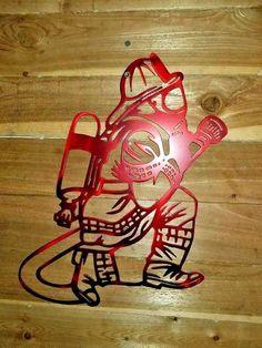 "16"" FIRE FIGHTER WALL SIGN Made in Waco Texas. CNC plasma Wall Art Decor | eBay"
