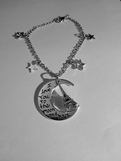 Lasso The Moon, Falling Stars, I Love You, My Love, Birthday Gifts For Girls, Shooting Stars, Washer Necklace, Bracelets, Handmade