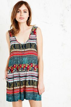 Shop Minkpink Folk Frenzy Playsuit at Urban Outfitters today. Urban Outfitters, Minkpink, Playsuit, Woven Fabric, Eye Candy, Folk, Rompers, Glamour, Tank Tops
