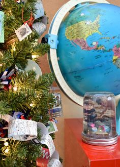 Make your own DIY vacation snow globe.    #diysnowglobe
