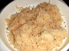 Authentic Czech-Style German Sauerkraut Recipe How To Make Sauerkraut With German, Austrian and Czech Influence Slovak Recipes, Austrian Recipes, Czech Recipes, Ethnic Recipes, German Recipes, Austrian Food, German Sauerkraut Recipe, Sauerkraut Recipes, Cabbage Recipes