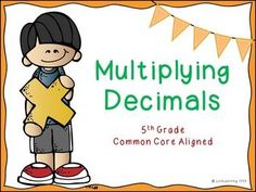 Multiplying Decimals Lesson This 115 slide PowerPoint presentation teaches… Multiplying Decimals, Rounding, Teaching Math, Teaching Ideas, 5th Grade Teachers, Fifth Grade Math, Flipped Classroom, Spelling Words, 5th Grades