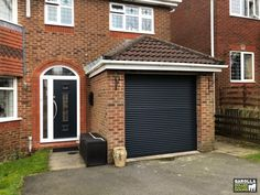 With a new roller shutter you can completely alter the appearance of your garage. So, if you're looking for remote controlled roller garage doors, look no further than Garolla. We install electric roller garage doors UK wide. Grey Garage Doors, Garage Doors Prices, Electric Garage Doors, Roller Doors, Roller Shutters, Door Design, House Design, Electric Rollers, Shutter Doors