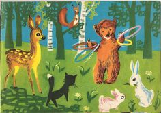 vintage bears in illustration - Google Search